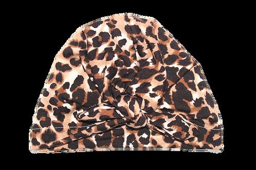 Leopard Print Bow Knot Turban