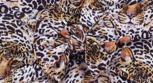 Leopard Print Bow Headband