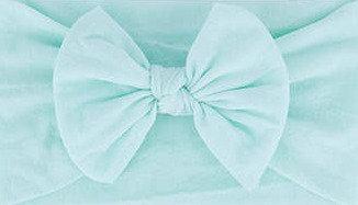 Mint Green Bow Headband