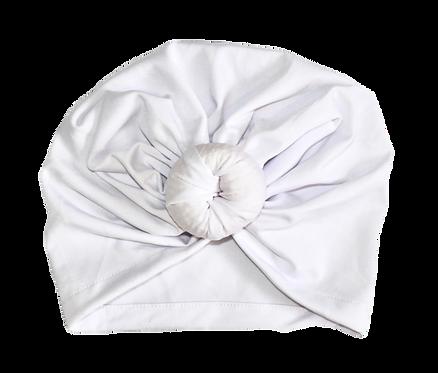 White Donut Turban