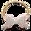 Thumbnail: Glittery Pink Dainty Bow Headband