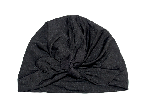 Black Bow Knot Turban