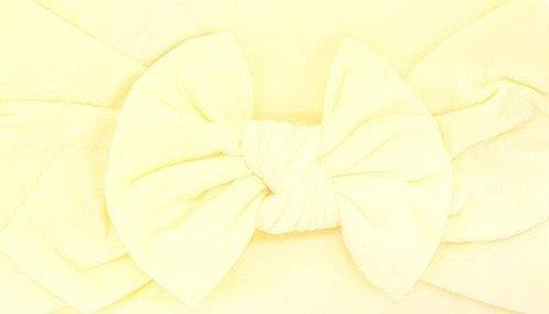 Lemon Bow Headband