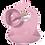 Thumbnail: Silicone Tableware Set | Blush Pink