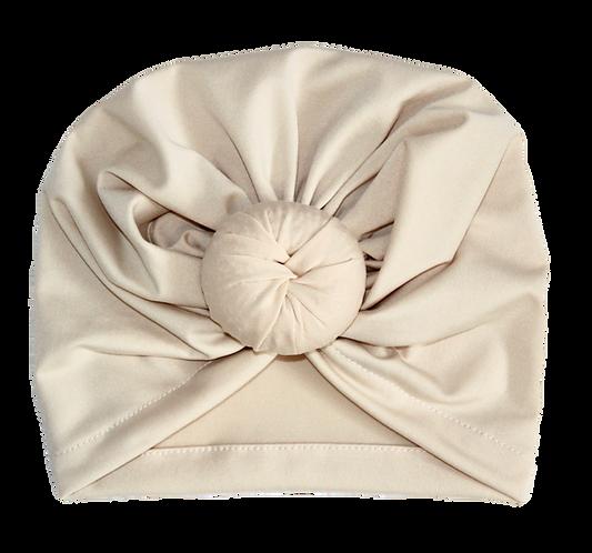 Cream Donut Turban