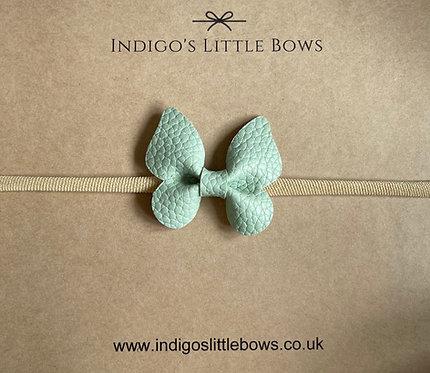 Mint Butterfly Dainty Headband