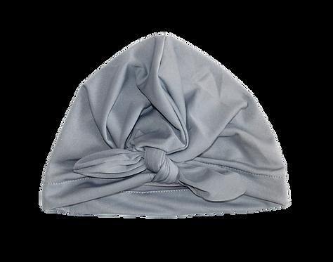 Grey Bow Knot Turban