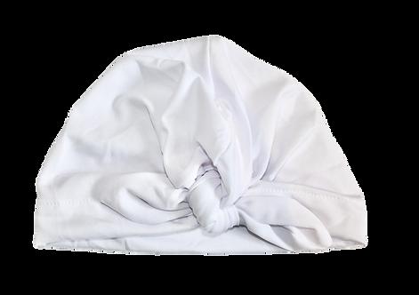 White Bow Knot Turban