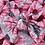 Thumbnail: Pink And Grey Floral Bow Headband