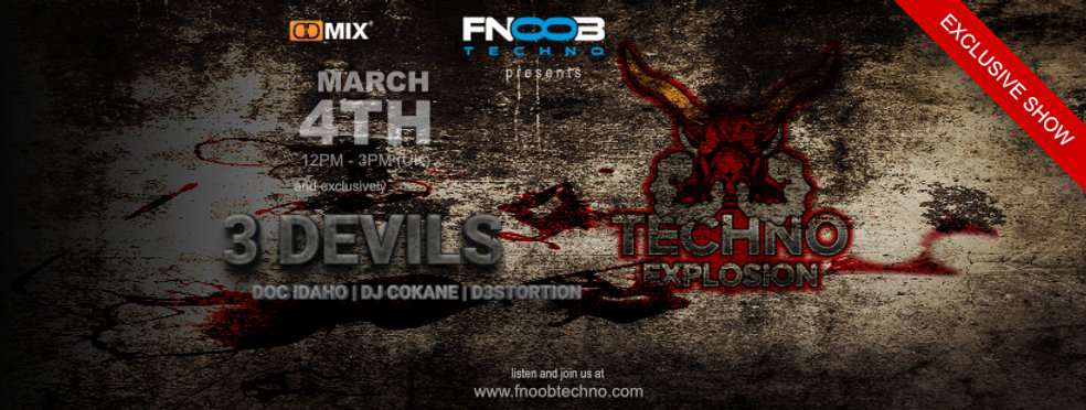 3 Devils - Exclusive Cover Facebook Bann