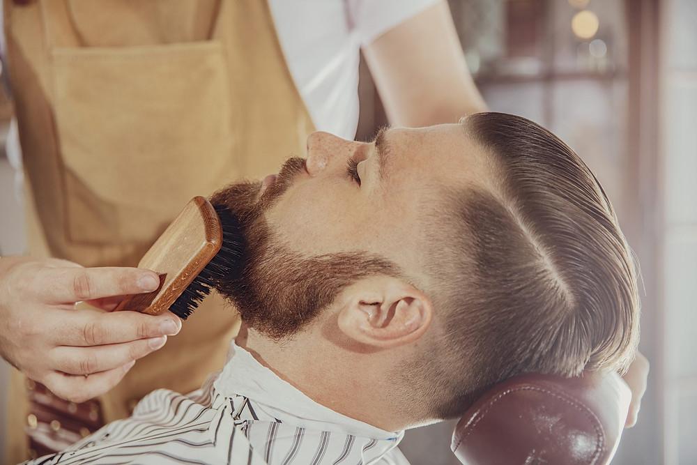 Brushing Beard