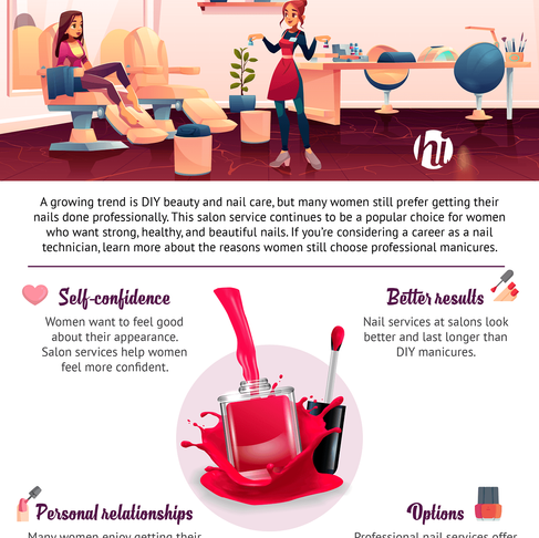 Benefits of Visiting a Professional Nail Technician