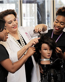 Hollywood Institute Cosmetology Students