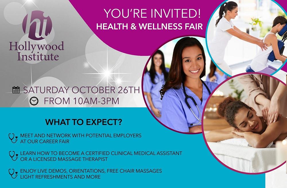 health and wellness fair information