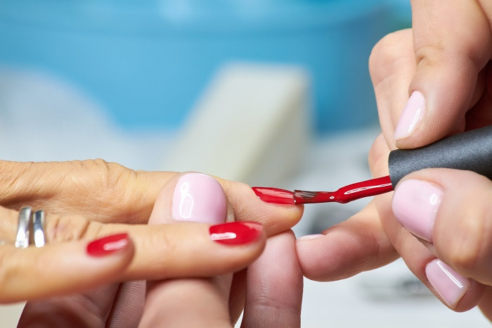 Painting Nails Red nail training courses orlando fl