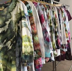 Ice Dyed Clothing