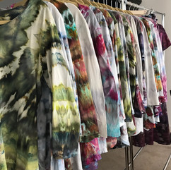 Ice Dyed Clothing