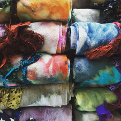Ice Dyed Kitchen Towels