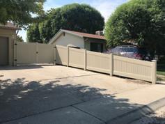 vinyl fence in palisade