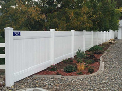 vinyl fence in clifton