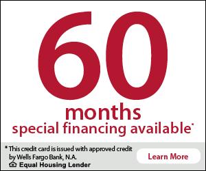 Wells Fargo - 60 Month Financing Banner.