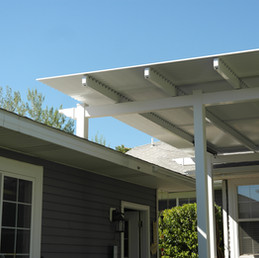 Shade Select Attached to Roof