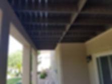 Dean's Deck - Black Railing - Shade Sele
