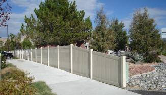 vinyl fence in orchard mesa