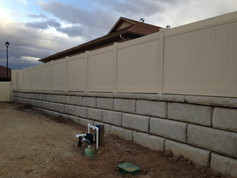 custom vinyl fence in grand junction