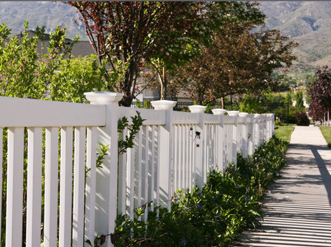 closed picket fence in moab