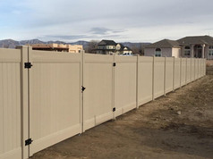 vinyl fence in grand junction