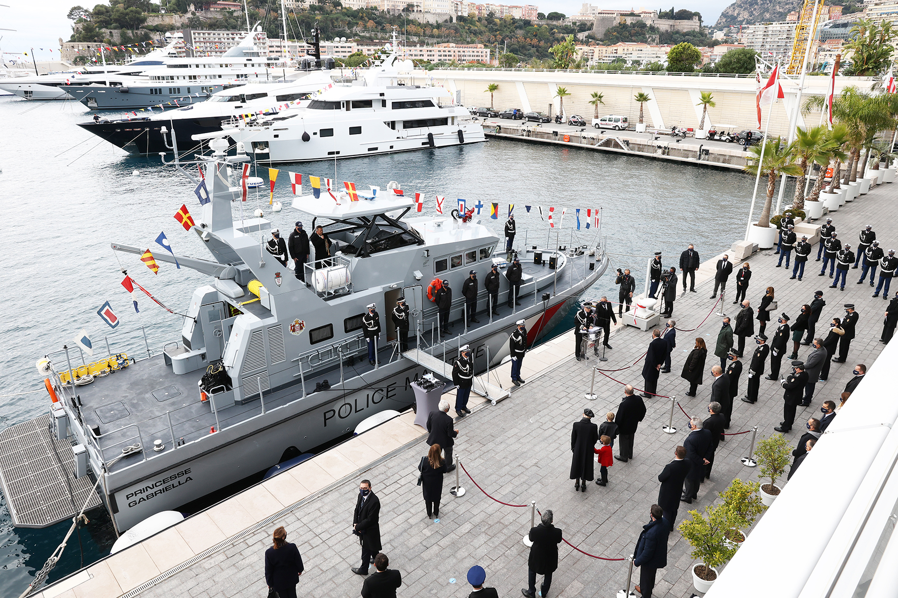 Inauguration Bâtiment Police Maritime