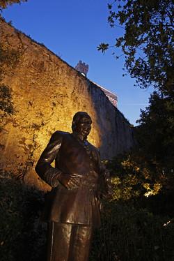 Statue du Prince Rainier III