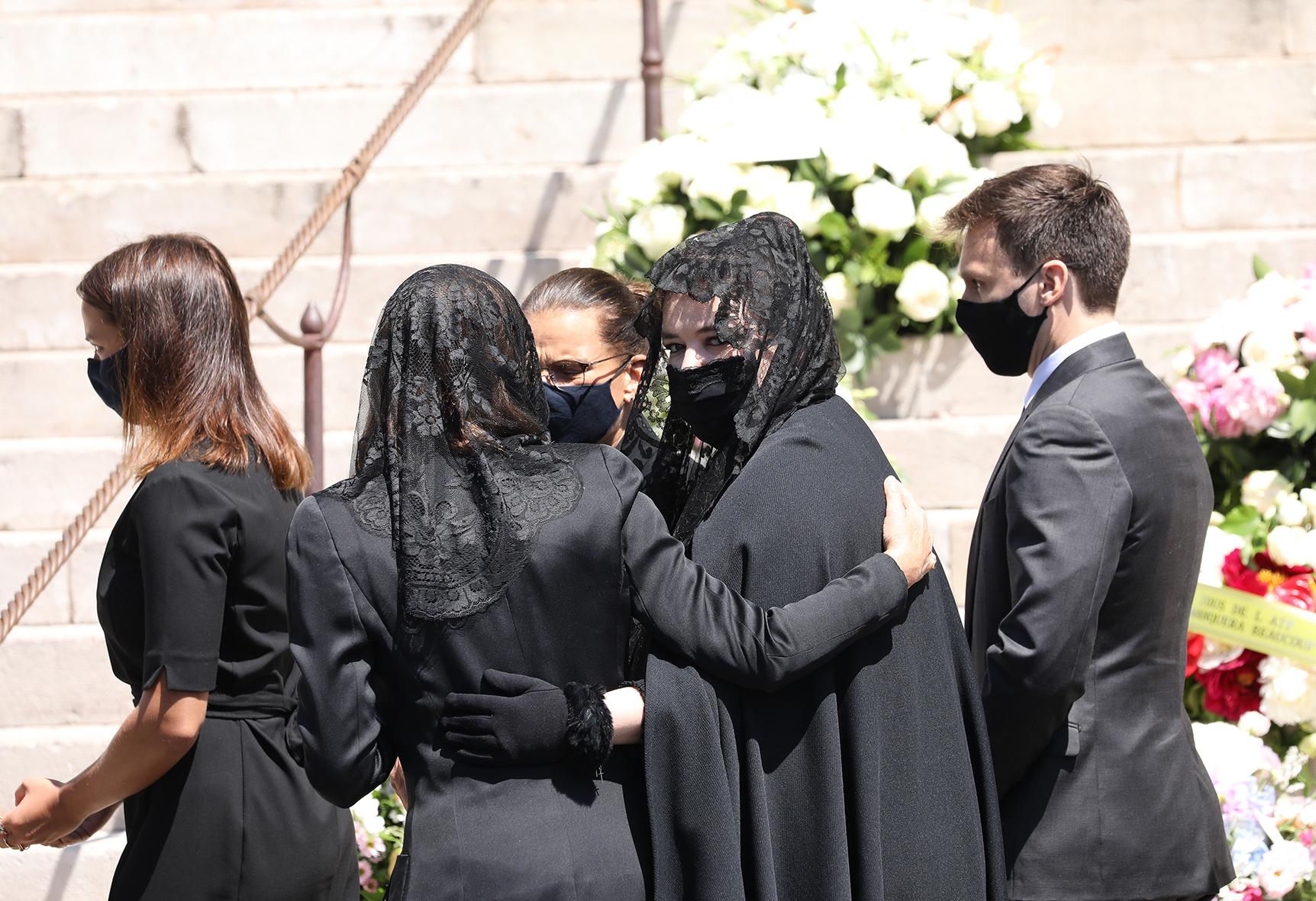 Obsèques Elizabeth Ann de Massybsèques Elizabeth Ann de Massy