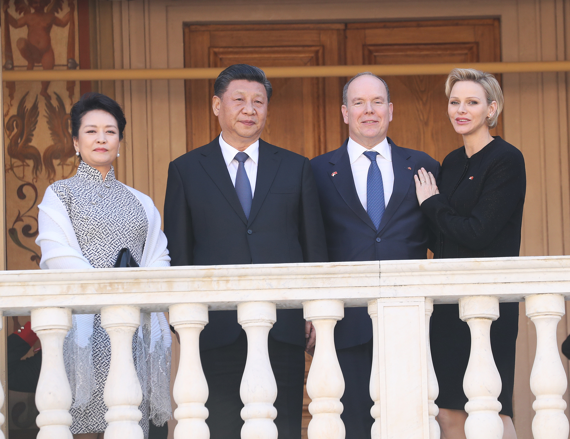 Couple Princier et Présidentiel
