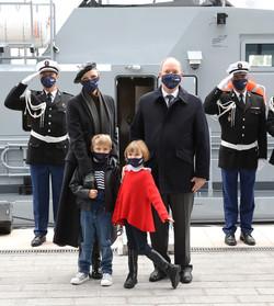 Inauguration Batiment Police Maritime