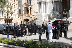Obsèques Elizabeth Ann de Massy