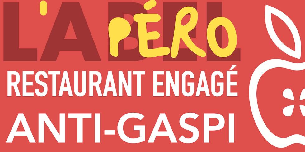 L'Apéro Restaurant Engagé Anti-Gaspi