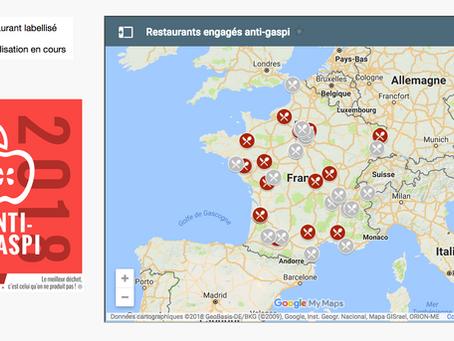 Plus de 50 restaurants déjà investis dans le label Framheim 'Restaurant engagé anti-gaspi'