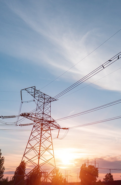 distribution%20electric%20substation%20with%20power%20lines%20and%20transformers%2C%20at%20sunset_ed