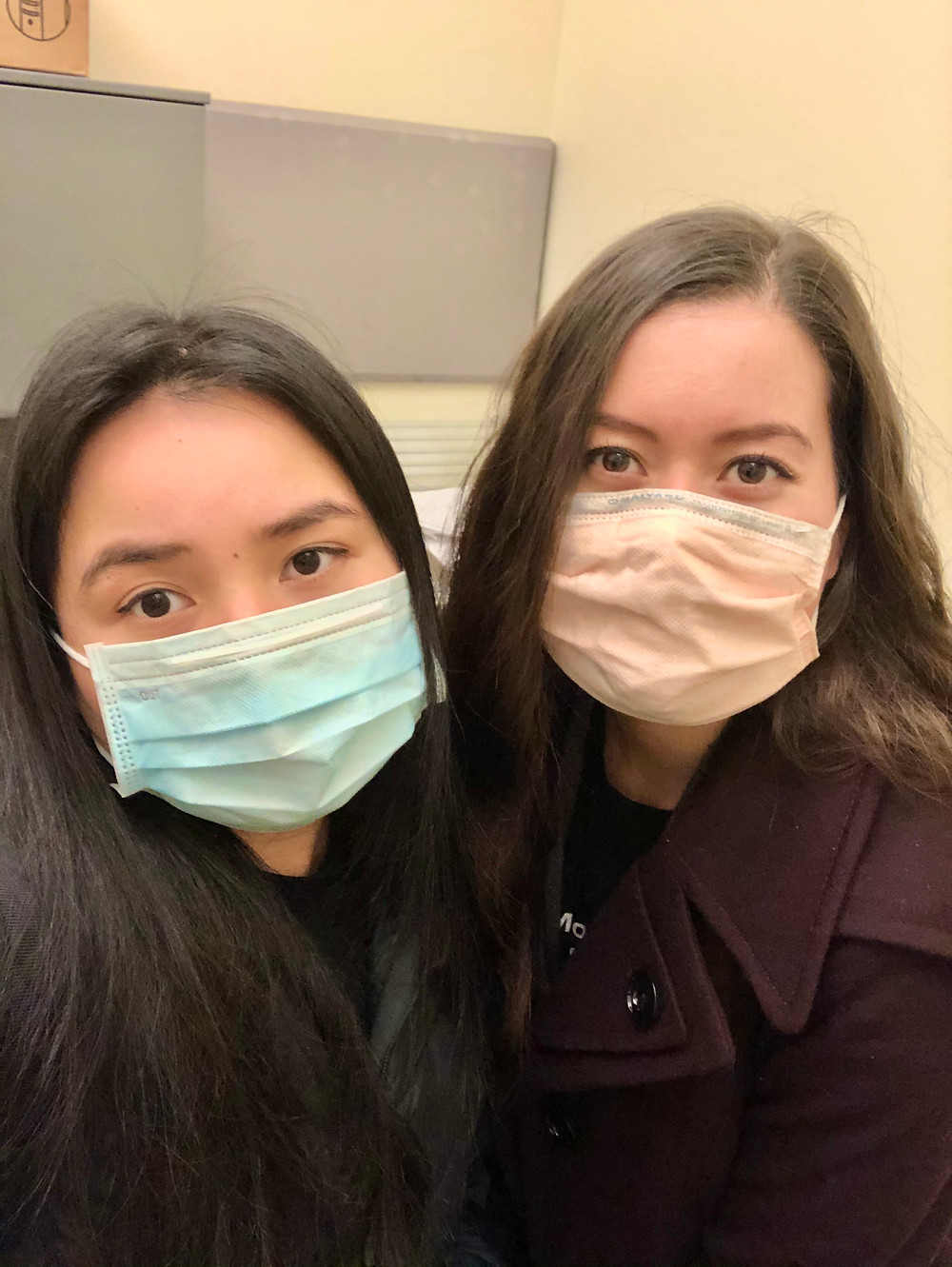 p.s. we did not go out and buy these masks. p.p.s. Don't steal masks from hospitals