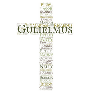 Latin Names in Irish Church Records