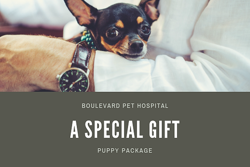 Puppy Package Promo