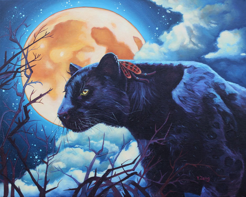 Nightwatcher black panther