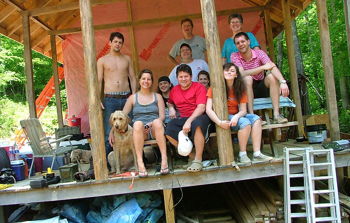 Build in the Hills gang 6-2011.JPG