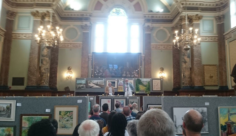 Pintar Exhibition in Chelsea Town Hall