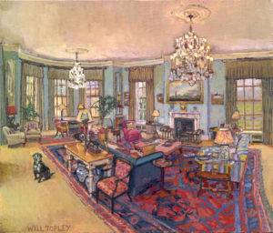 Sketch of room