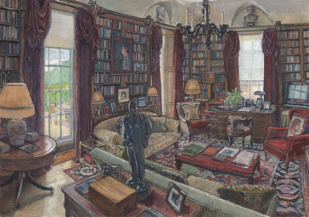 The Study at Ferne
