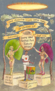 Invitation to Carnival Party