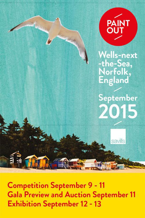 Wells-next-the-sea Paint Out poster